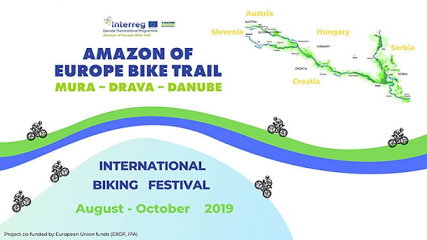 Poziv za biciklijadu - Amazon of Europe Bike Trail