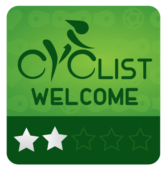 Cyclist Welcome 2