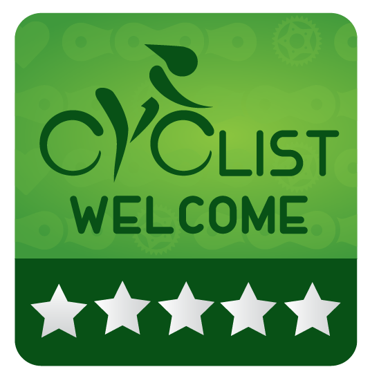 Cyclist Welcome 5